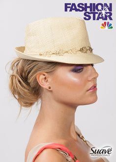 Cap off your locks with a summery hat. Hat Hairstyles, Messy Bun, Star Fashion, Sephora, Locks, Hair Beauty, Cap, Hair Styles, Life