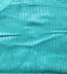 Light turquoise lurex tichel, $8.50