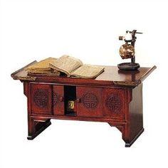 Oriental Furniture: Chinese Longevity Scholar Desk