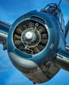 Celebrating the aircraft designed and built on Long Island, along with other planes I think are beautiful. Grumman Aircraft, Aircraft Engine, Ww2 Aircraft, Fighter Aircraft, Military Aircraft, Fighter Jets, Radial Engine, Airplane Art, Jet Engine