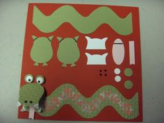 Stampin' Up! Owl Punch Laura Haffke Tasteful Trim Snake