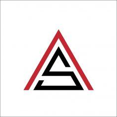 Typo Logo Design, Modern Logo Design, Icon Design, Lettering Design, S Letter Logo, Letter Icon, Letter Symbols, Clever Logo, Triangle Logo