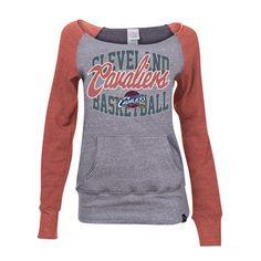 Cleveland Cavaliers Team Shop - Cavs Ladies TriBlend BoatNeck