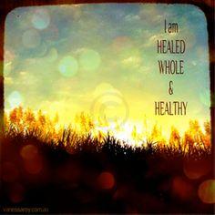 Healed, Whole & Healthy