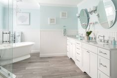 bright and airy bathroom | Supply New England's Kitchen and Bath Gallery