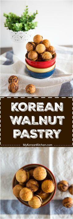 korean walnut cakes