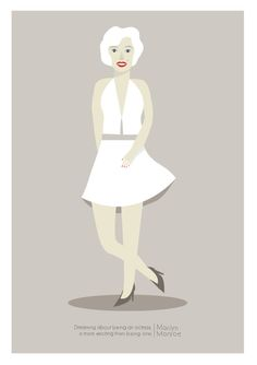 Marilyn Print Different Sizes por JudyKaufmann en Etsy
