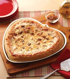 Heart Pizza For Valentine