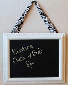 Desperate Craftwives: Framed Chalkboard