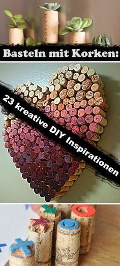Basteln mit Korken: 23 kreative DIY Inspirationen