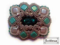 Lolissa sutasz Soutache Jewelry, Shibori, Beading, Jewelry Making, Lol, Accessories, Fashion, Moda, Beads