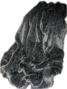 Gorgeous Soft Grey Large Fuzzy Furry Scarf urban Outfitters RRP £28 Great Gift
