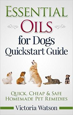FREE ebook all about using essential oils safely with dogs (click image for lots of other free ebooks about essential oils, too!!)