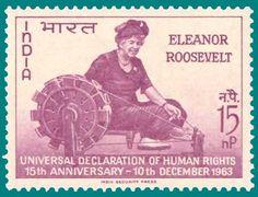Eleanor Roosevelt... President's wife, spinner, knitter!