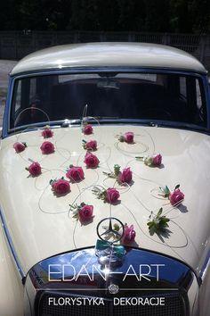 Dekoracje kościołów, samochodów, auto do ślubu Olsztyn, Warmińsko-Mazurskie Edan-Art #wesele #slub