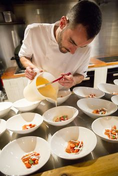 Discover how chef, Sven-Hanson Britt hosted exclusive Farm to Fork dining experiences that showcased the finest British produce and traditions at John Lewis Pop Up Restaurant, Earl Grey Tea, Executive Chef, Fork, Dining, Blog, Recipes, Food, Rezepte