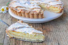 Crostata di mandorle con crema pasticcera e marmellata vickyart arte in cucina