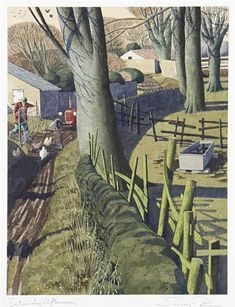 helen warlow ‏ Saturday Afternoon by Simon Palmer. He paints Yorkshire exactly as I want to see it and remember it. I'm a fan. Pierre Auguste Renoir, Landscape Art, Landscape Paintings, Uk Landscapes, Illustrations, Illustration Art, Imagen Natural, Paintings I Love, Naive Art