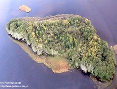 Jezioro Wulpińskie, Wyspa Urbanki, Dorotowo - 11.10.2010