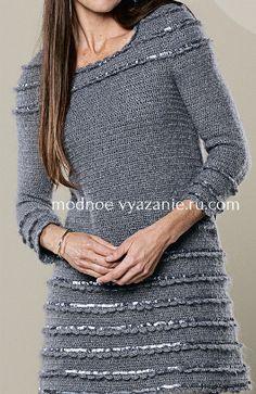 платья,юбки ,туники - Crochet Modnoe Vyazanie
