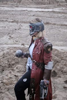 Female Star Lord Cosplay