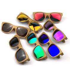 >> Click to Buy << 2016 Fashion Handmade Bamboo Sunglasses for Men and Woman with Polarized Lens #Affiliate