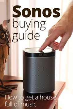 We've spent lots of time auditioning Sonos speakers and components in a variety of settings, so we can help you get all the music on earth in every room. Find advice on what you need to add wireless audio (and much more music) to your life.