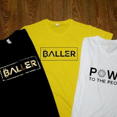 Our 3 OG cryptocurrency based apparel! The yellow is actually a limited edition of one to celebrate our success! Perfect Image, Perfect Photo, Love Photos, Cool Pictures, Paint Colors For Living Room, Room Paint, Celebrity Outfits, Cryptocurrency, Graphic Tees