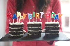 Mini Birthday Cakes!