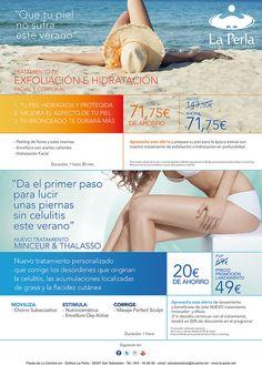 Tratamientos especiales para estar perfecta para este verano. #esfoliantes…