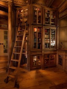A home library could be an entire room, or it could be just a bunch of shelves which will turn an unused space into your favorite place of your home. No matter the size of your house, you can always have a cozy and stunning home library. If you need some