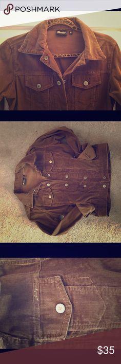 Hurley Brown Cordaroy Jacket Hip Hurley surgery girl cordaroy jacket.  Gently loved;) Hurley Jackets & Coats Jean Jackets