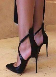 25 Wonderful High Heels Open Toe For Women Black High Heels Boots For Women - Talons - Heel Boots For Women, High Heel Boots, Heeled Boots, Shoe Boots, Shoes Women, Heeled Sandals, Ladies Shoes, Ladies Sandals, Black Sandals