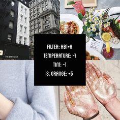 VSCOCAM Filter: Hb1+6|Temperature: -1|Tint: -1|Shadows Orange: +5 - Works well on everything. #vsco#vscocam#vscofilter