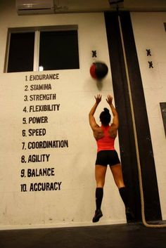 Crossfit - The 10 Components of Fitness Crossfit Box, Crossfit Motivation, Weight Loss Motivation, Crossfit Women, Daily Motivation, Crossfit Quotes, Crossfit Chicks, Lifting Motivation, Running Quotes
