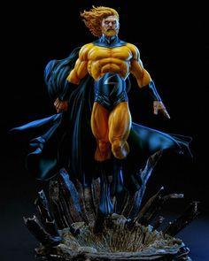 Marvel Sentry_Figure for Print By Daniel Bel Sentry Marvel, Marvel Statues, Arte Dc Comics, Custom Action Figures, 3d Prints, Sideshow Collectibles, Marvel Art, Thor Marvel, Marvel Characters