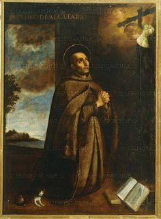 Zurbaran,Francisco de  Saint Peter of Alcantara (1499-1562).  El Escorial, Real Monastero de San Lorenzo, El Escorial, Spain