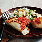Are these dinners really only 300 calories?  Recipe: http://www.myrecipes.com/recipe/sauteed-halibut-with-romesco-50400000109585/