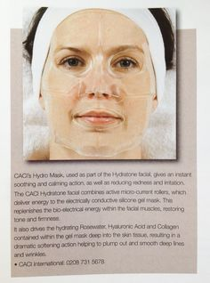 CACI Hydratone re-hydration mask
