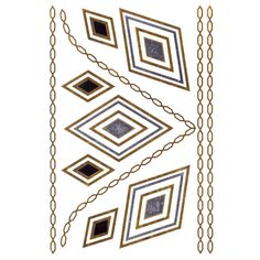 HJLWST Diamond Jewelry Inspired Metallic Gold and Silver Tattoo Stickers Temporary Tattoos ** To view further for this item, visit the image link. (This is an affiliate link) Metal Jewelry, Diamond Jewelry, Flash Tats, Silver Tattoo, Metal Tattoo, Jewelry Tattoo, Makeup Tattoos, Boho Girl, Body Makeup