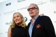 Actor Peter Fonda and Margaret DeVogelaere at the #WIFOscars