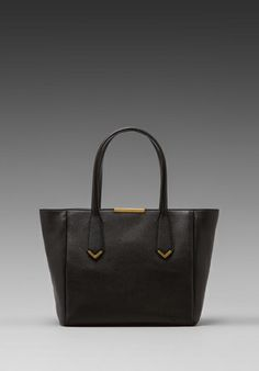 MARC BY MARC JACOBS Hail to the Queen Tote in Black -