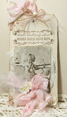 Where Smiles have been.... {Vilda Stamps}