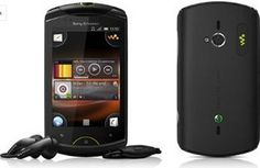 Sony Ericsson Live with Walkman WT19i Mobile Phone Black Unlocked - For Sale