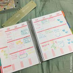 Cada um tem seu estilo de planejar, qual é o seu? #meudailyplanner #dailyplanner #plannerdecor #planejamento