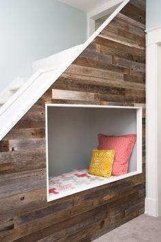 Amazon.com: Reclaimed Barn Wood Wall Panel- Easy Peel and Stick Application (10…