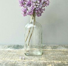 """I'm pretty sure this is just one of those things I """"need"""". Keep Life Simple, Inside Garden, Comfort And Joy, Shabby Cottage, Purple Grey, Glass Bottles, Simple Designs, Art Photography, Centerpieces"""