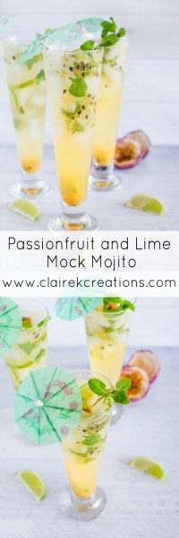 Passionfruit and lim