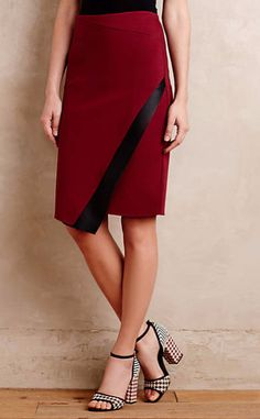 Astin Wrap Skirt #anthrofave                                                                                                                                                      More