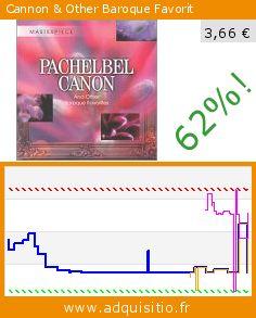 Cannon & Other Baroque Favorit (CD). Réduction de 62%! Prix actuel 3,66 €, l'ancien prix était de 9,67 €. http://www.adquisitio.fr/spj-music/pachelbel-canon-other